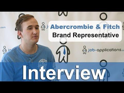 Abercrombie & Fitch Interview - Brand Representative