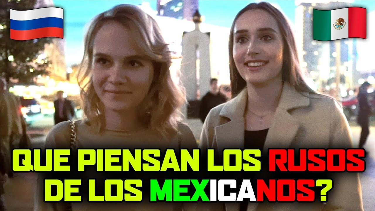 🇷🇺QUÉ PIENSAN los RUSOS de los MEXICANOS 🇲🇽 | Que saben los rusos de México?