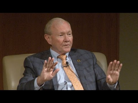 Distinguished Speaker Series: General Martin Dempsey, Former