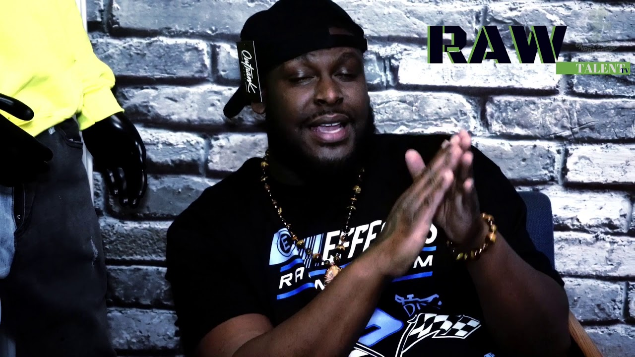 K. KRUCIAL talks music, community support, & more!! | Raw Talent TV | Ep.1