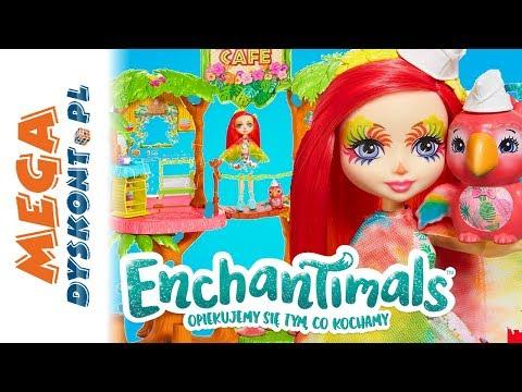 Enchantimals 🌴 Tropikalna Kawiarenka 🦜 MegaDyskont