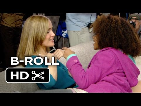Annie B-ROLL 1 (2014) - Rose Byrne, Quvenzhané Wallis Musical HD