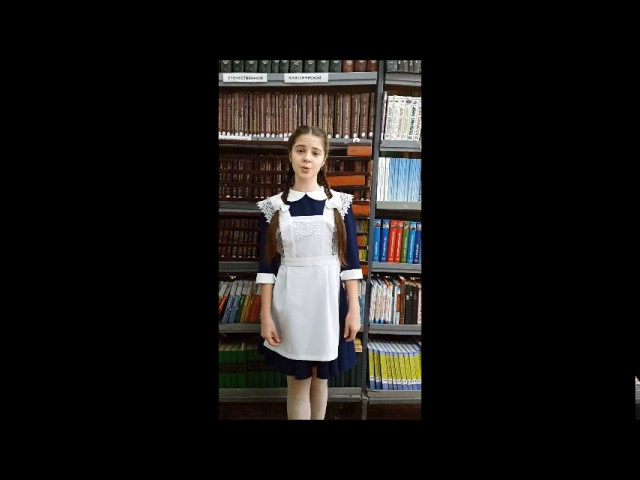 Изображение предпросмотра прочтения – ПолинаНикульцева читает произведение «Мороз, Красный нос» Н.А.Некрасова