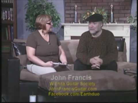 Live US TV Interview with John Francis and Marcela Kalecová of Earth Duo