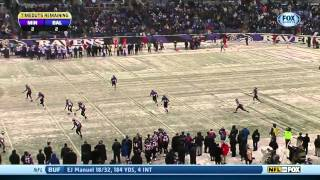 Watch Minnesota Vikings vs Baltimore Ravens 12 08 2013 4th Quarter