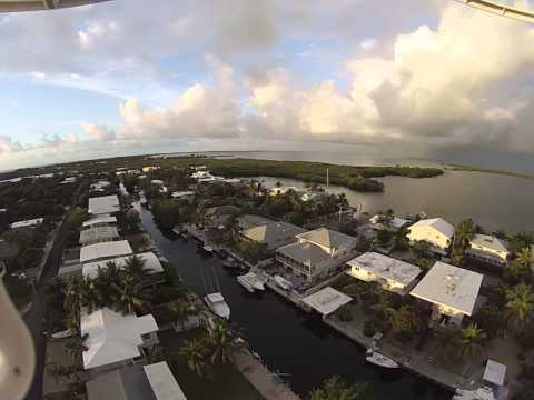 Drone - Quadcopter Aerial Video of Key Largo / Tavernier Florida