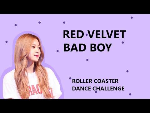 RED VELVET BAD BOY ROLLER COASTER DANCE CHALLENGE
