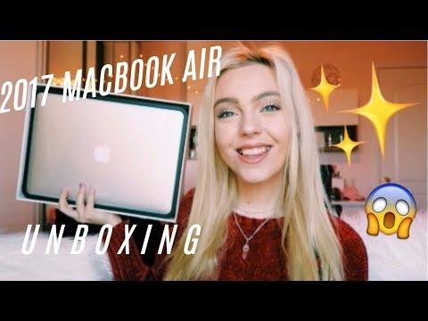 2017 MACBOOK AIR UNBOXING | LATEST MODEL😍 😱