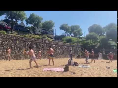 Las palas regresan a las playas de Cantabria con la fase 2
