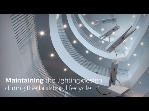 Maintaining lighting design during the building lifecycle