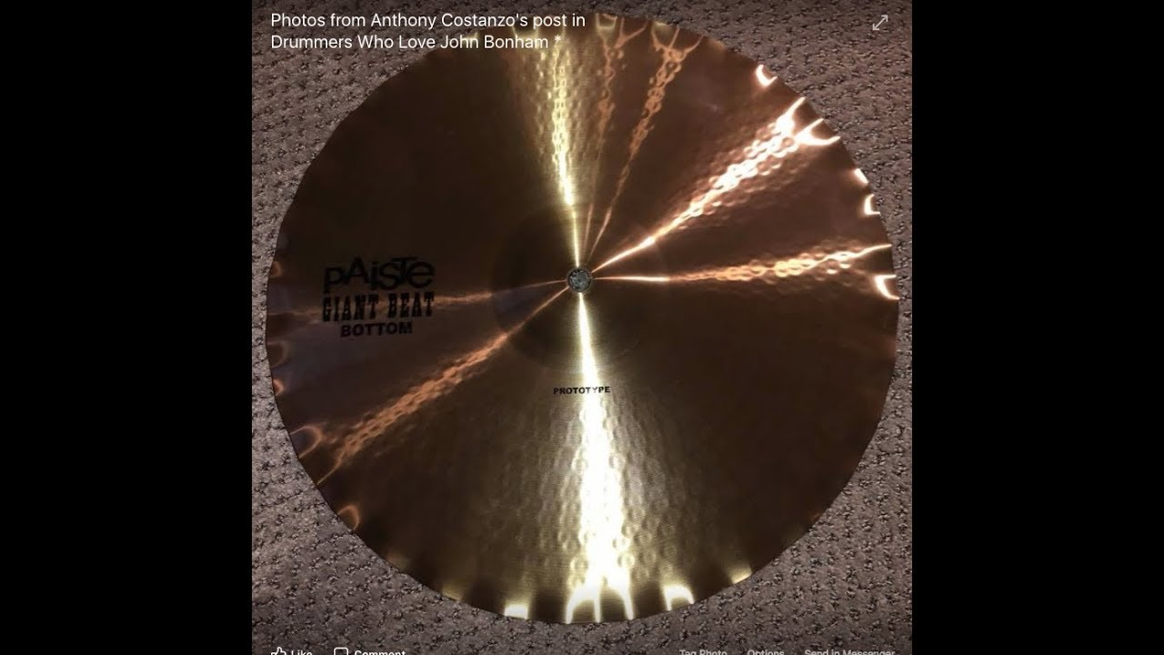 442802adf5e Are Paiste GIANT BEAT SOUND EDGE HI HATS Finally Here !! - YouTube
