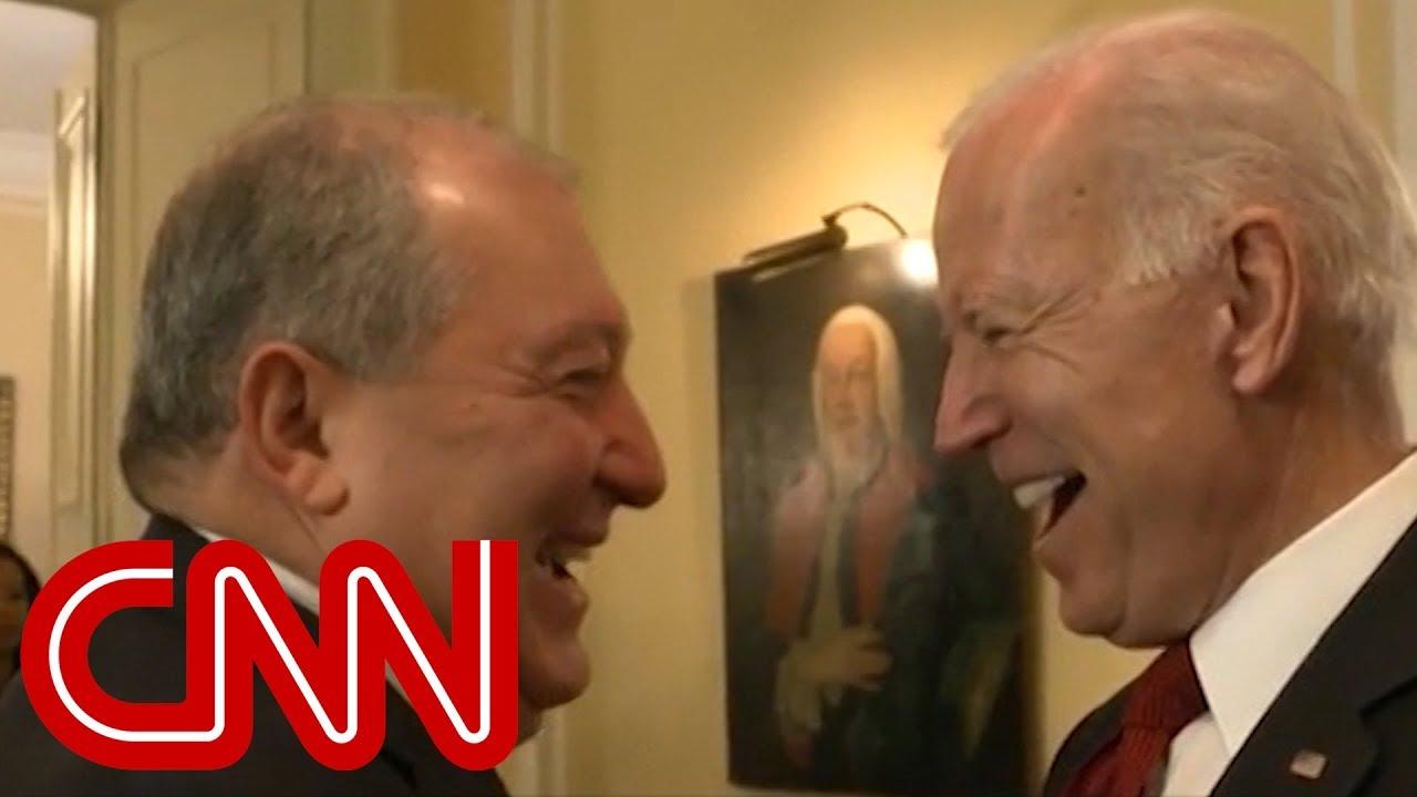 World leader puts Joe Biden on the spot