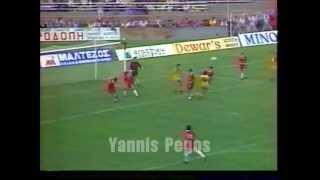 Ξανθη - Αρης  2-4  3η 1989-90