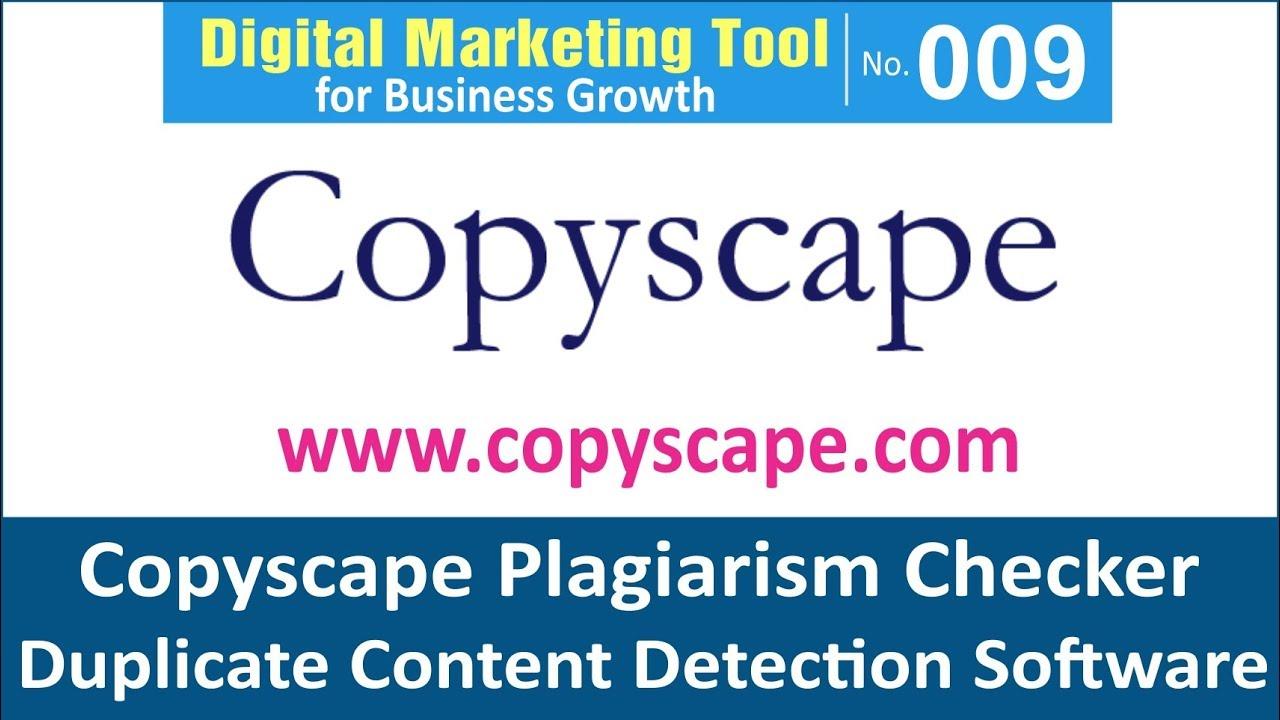 copyscape tool