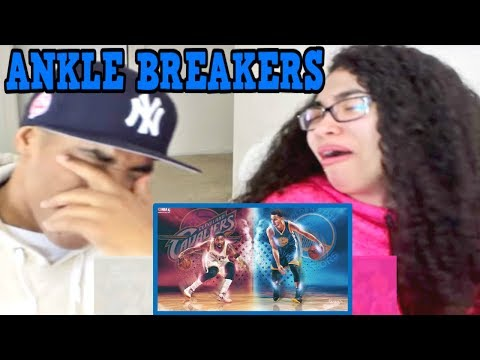 NBA Best Crossovers of All Time Part 1 REACTION | MY DAD REACTS