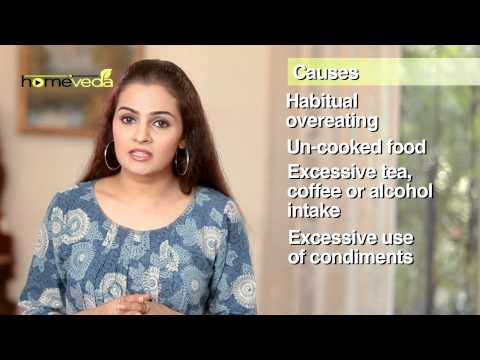 Gastritis - Natural Ayurvedic Home Remedies
