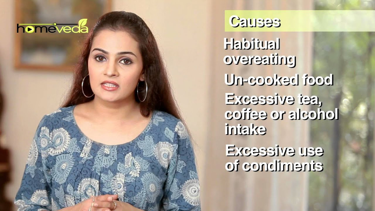 Gastritis - Natural Ayurvedic Home Remedies