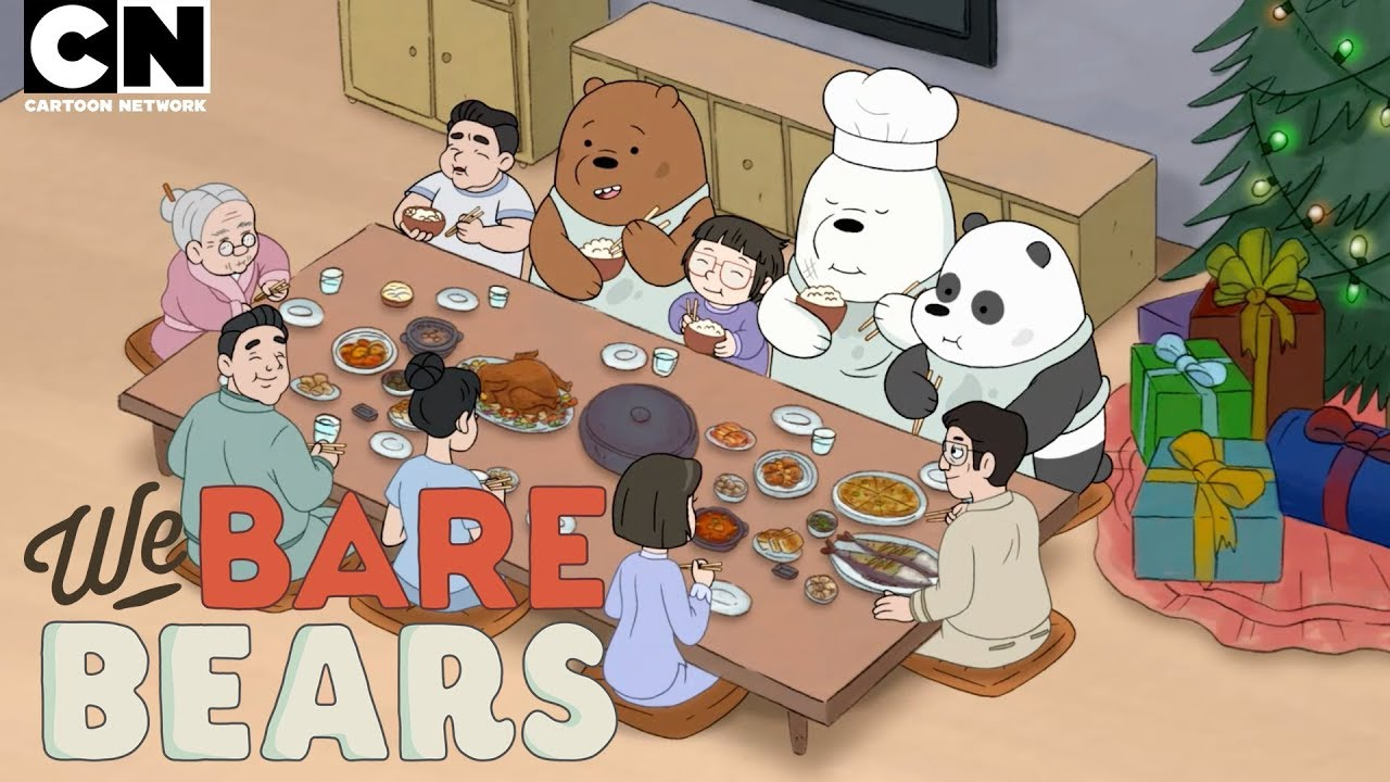 Christmas Party Images Cartoon.We Bare Bears Christmas Parties Cartoon Network