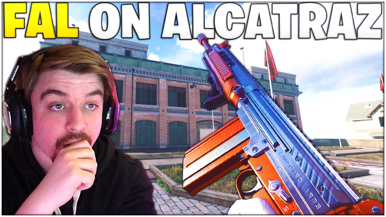The FAL On Alcatraz - Does This Old Meta Hold Up!? *Best FAL Setup* (Rebirth Island - Warzone)