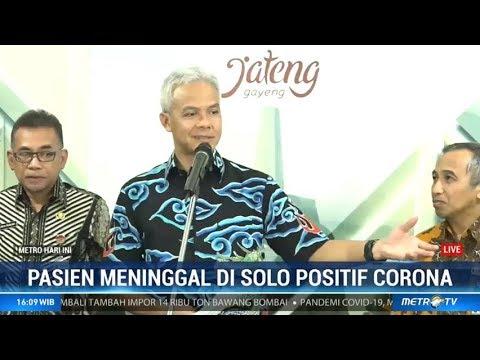 Ganjar Pasien Corona Meninggal Di Solo Sempat Seminar Di Bogor Youtube