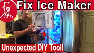 How to Fix an Ice Maker - LG R…