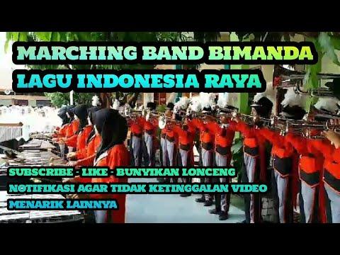 Marching Band BIMANDA _ HAB DEPAG _ LAGU INDONESIA RAYA