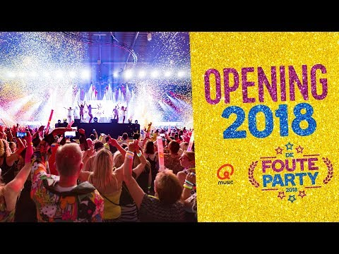 Opening Foute Party 2018 door de Q-dj's // Foute Party 2018
