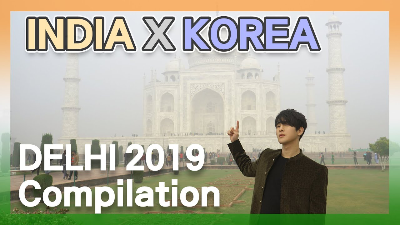 What Korean Felt about India🛕 | Dehli 2019 Trip Compilation | India x Korea Cultural Exchange (KR🔊)