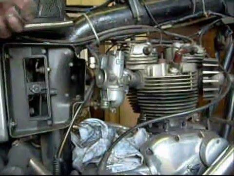 Carbs Starting Triumph Bonneville 73 T120r Youtube