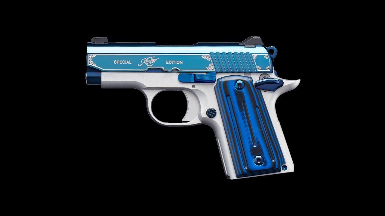Kimber Micro 9 Sapphire Special Edition tanıtımı
