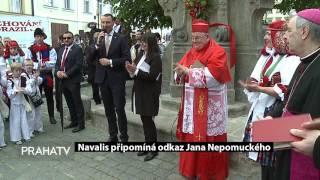Navalis připomíná odkaz Jana Nepomuckého