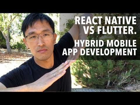 React Native vs Flutter vs WebView - Hybrid Mobile App Development for 2018