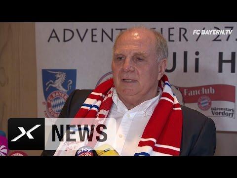 Uli Hoeneß über Carlo Ancelotti, Pep Guardiola und RB Leipzig | FC Bayern München