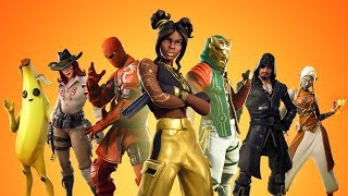 "-Fortnite-Live """" Here are the Easter skins! My friend gifted one for me... """