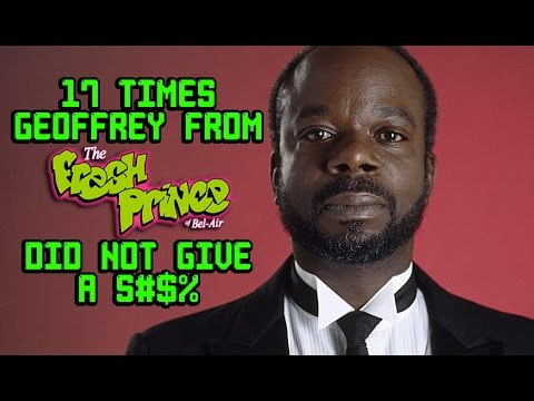 17 Times Geoffrey From  Fresh Prince of Bel Air  Did Not Give A S#$%