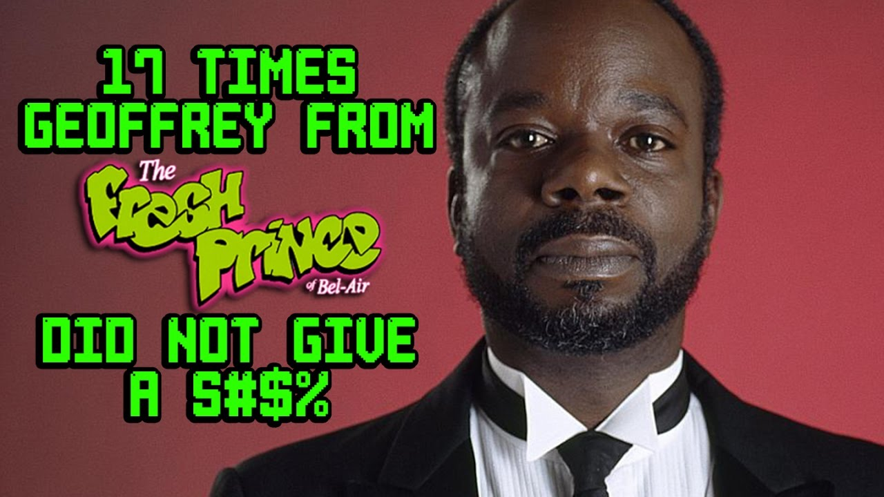 """17 Times Geoffrey From """"Fresh Prince Of Bel Air"""" Did Not Give A S#$% LOLOLOL!!!"""