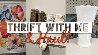 Goodwill Thrift Shopping with Me and Home Decor Thrift Haul!