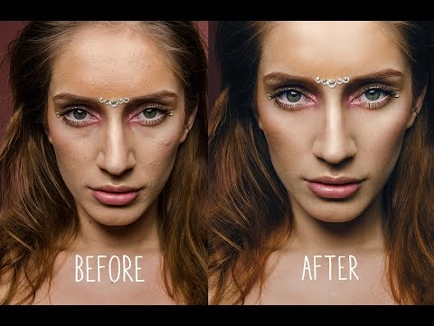 Before and after - photoshop edit - By Marta Popescu - YouTube
