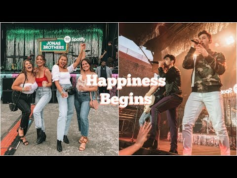 Exclusive Jonas Brothers Concert Event! // HAPPINESS BEGINS TOUR