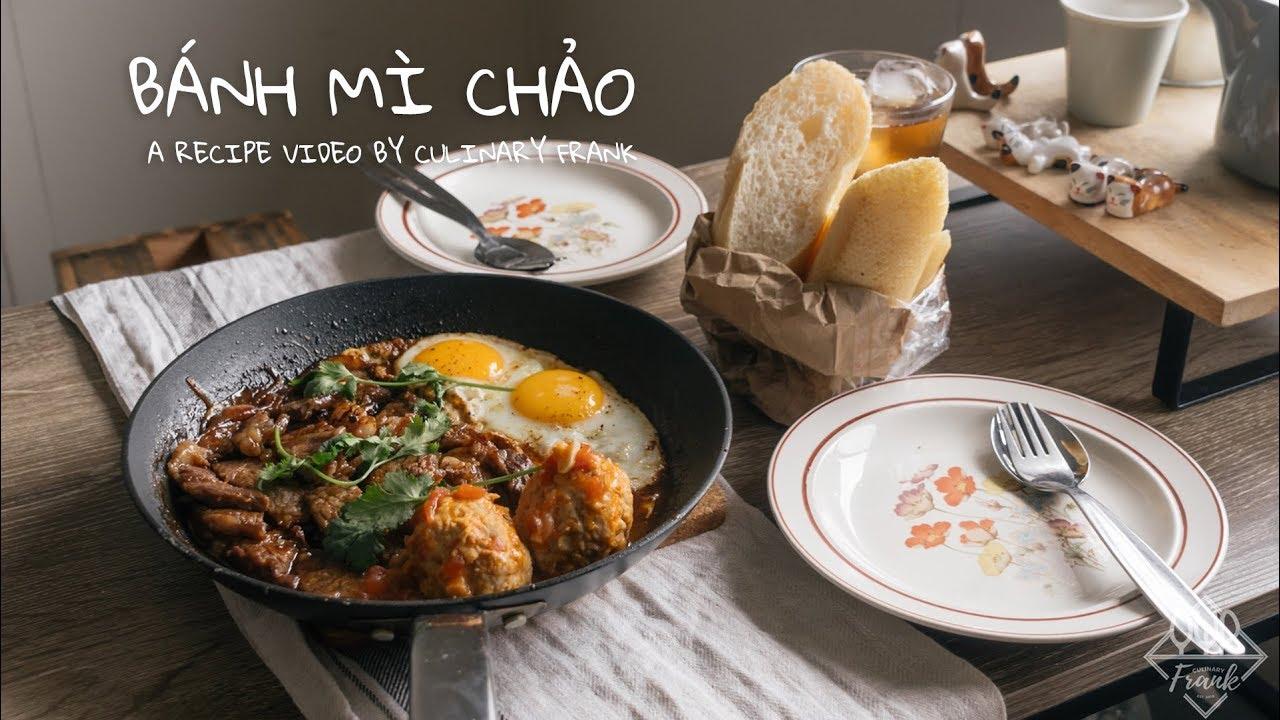 BÁNH MÌ CHẢO | ASMR Cooking | Culinary Frank