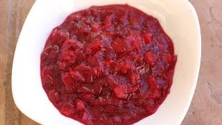 Cranberry Apple Pear Sauce Recipe - Great Anytime Of Year by Rockin Robin