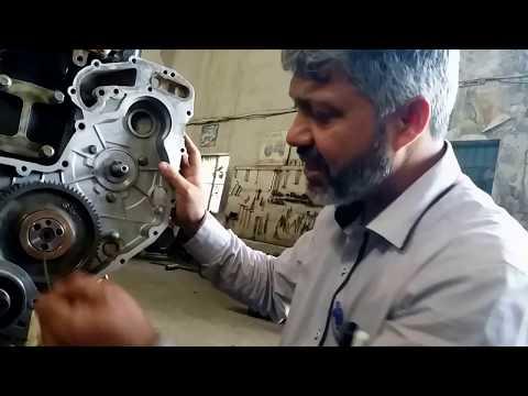 Perkins Diesel Engine Timing Marks in Full HD   FunnyCat TV