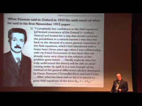 History of General Relativity - Michel Janssen