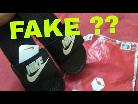 huge discount 19591 efb67 Nike Flip Flop 50% off Snapdeal Fake or not ??