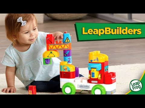 Jump Into Learning With LeapBuilders Interactive Playsets! | A Toy Insider Play by Play