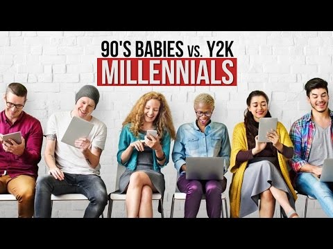 What's The Difference Between 90's Babies and Y2K Millennials?