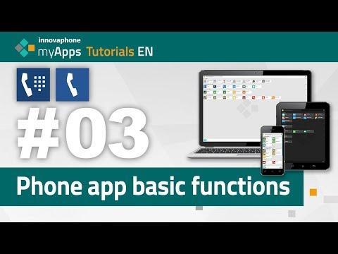 #03 myApps Tutorial — Phone app and Softphone app basic functions | EN thumbnail