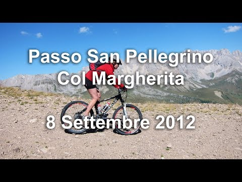 Passo San Pellegrino - Col Margherita - 8 Settembre 2012 - Mountainbike