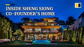 Inside Sheng Siong supermarket billionaire Lim Hock Leng's home in Singapore