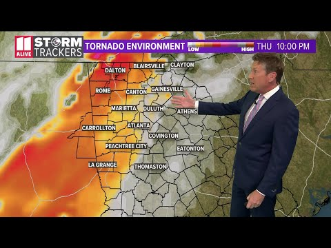Live Updates | Tornado watch remains in north Georgia as severe ...